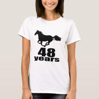48 Years Birthday Designs T-Shirt