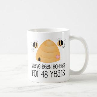 48th Anniversary Couple Gift Coffee Mug