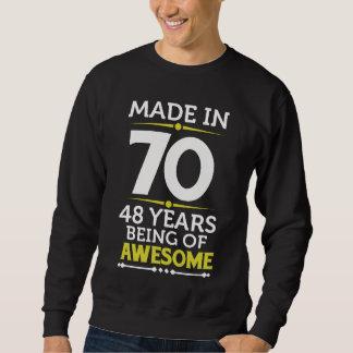 48th Birthday Gift Costume For 48 Years Old. Sweatshirt