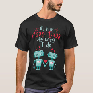 48th Wedding Anniversary Shirt.Cute Gift T-Shirt