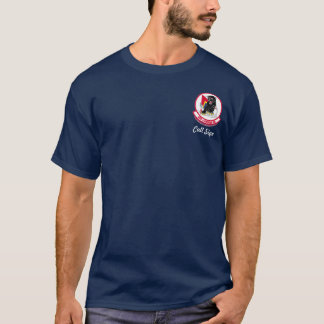 494th FS with F-15E - (dark color) T-Shirt