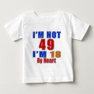49 American Legend Birthday Designs Baby T-Shirt