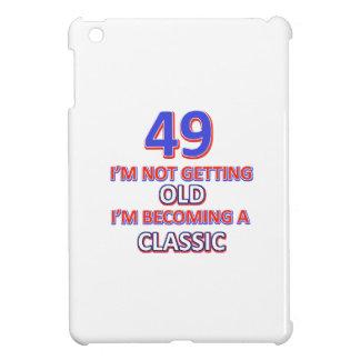 49 birthday design cover for the iPad mini