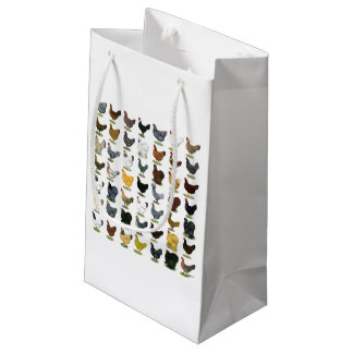49 Chicken Hens Small Gift Bag
