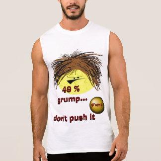 49 % grump grumpy guy sleeveless tee