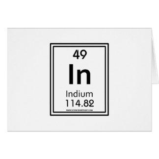 49 Indium Card