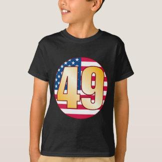 49 USA Gold T-Shirt