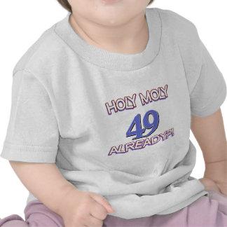 49 year old designs tee shirt
