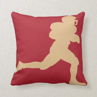 49er Gold Football Pillow