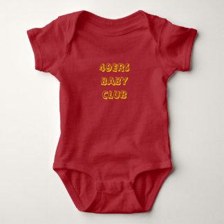 49ERS Baby Club Baby Bodysuit