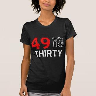 49th birthday designs shirt