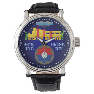 4/47th Inf. 9th Div. CIB ATC Watch