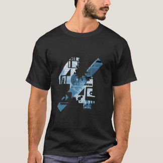 4/4 (Black&Blue) T-Shirt