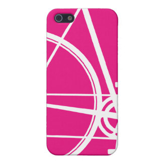 4/4S hot pink Cycle  iPhone 5/5S Case