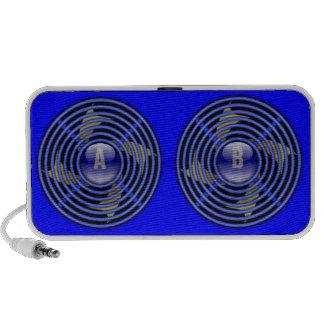 4 Blade Reversible Exhaust Fan iPod Speakers