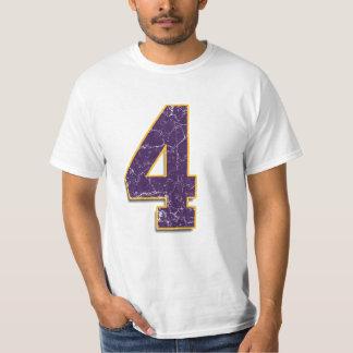 #4 Brett Favre Vikings shirt
