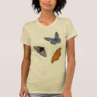 4 Butterflies crew neck T-Shirt