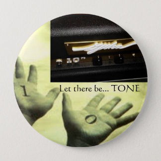 """4"""" Button - Hands w/Gjika 10^n - Let there be TONE"""