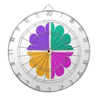 4 COLOR GRAPHIC DECORATION PRINT DART BOARD