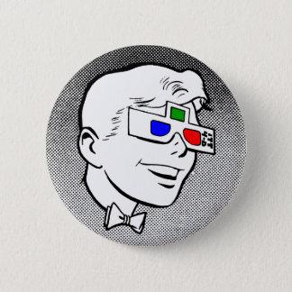 4-D Kid 2 Inch Round Button