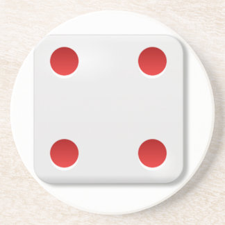 4 Dice Roll Drink Coasters
