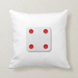 4 Dice Roll Pillows