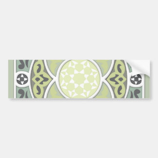 4 Directions - Lime & Sage Bumper Sticker