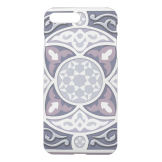 4 Directions  - Silver & Lavender iPhone 7 Plus Case