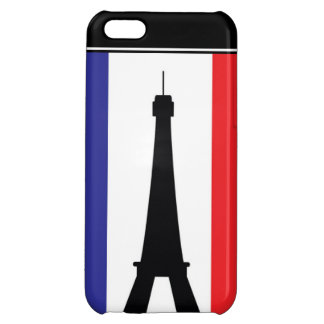 4 Eifel Tower red white blue iPhone 5C Case