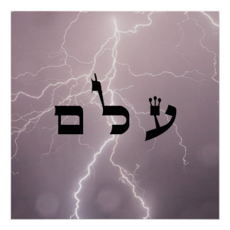 4 Eliminating Negativity - 72 Names of God Poster