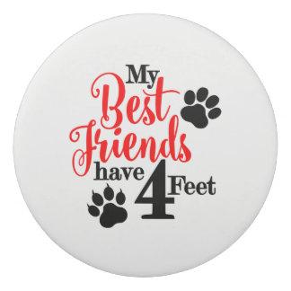 4 Feet Best Friends Eraser