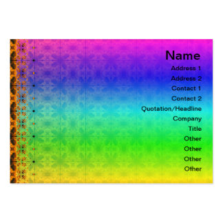 4 Flames Grid Business Cards