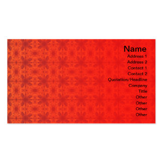 4 Flames Grid Business Card