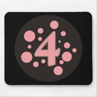 4-Four Mouse Pad