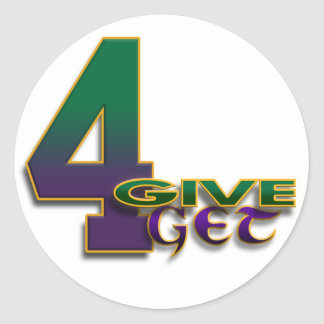 4-Give 4-Get 4 Favre sticker