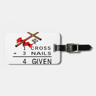 4 Given Luggage Tag