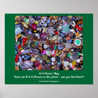 4-H Clover I Spy Poster