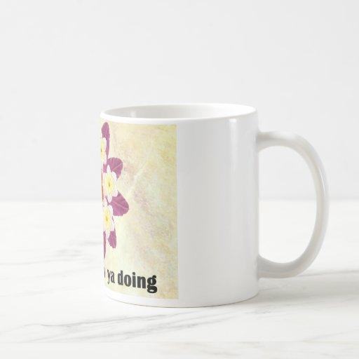 4 Hi Hello How ya doing Mugs