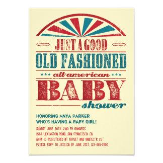 4 juillet invitation de baby shower de BBQ