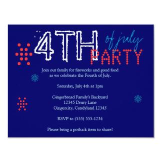 4 juillet invitation de partie