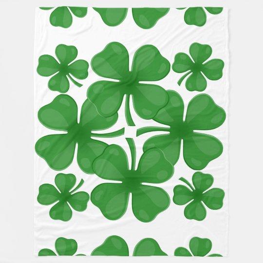 4 leaf clover blanket