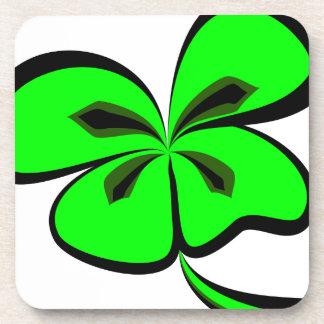 4 leaf clover coaster