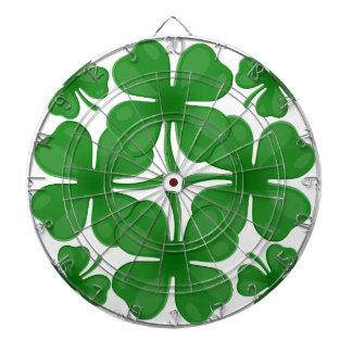4 leaf clover dart boards