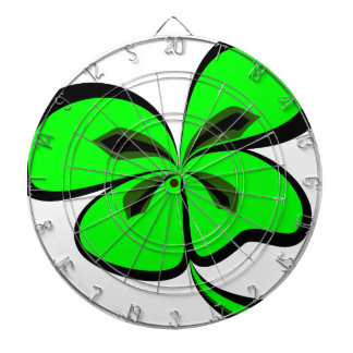 4 leaf clover dartboard