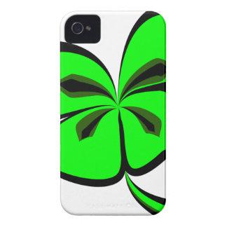 4 leaf clover iPhone 4 case