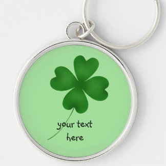 4 leaf clover keychain