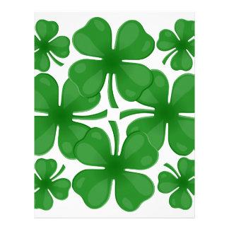 4 leaf clover letterhead