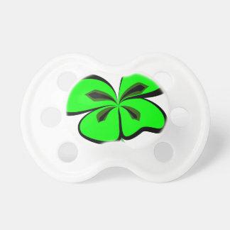 4 leaf clover pacifier