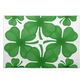 4 leaf clover placemat