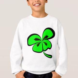 4 leaf clover sweatshirt